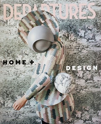 Departures Magazine Home and Design Spring 2020 Taconic Builders Shenton Architects Cover