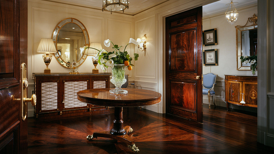 Central Park West Traditional Apartment Taconic Builders