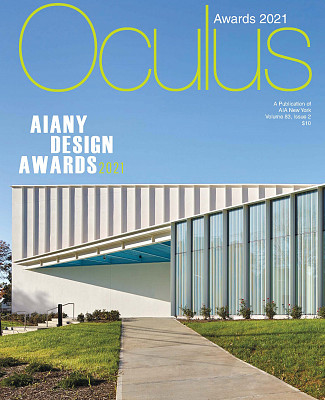 Oculus Magazine Spring 2021 Taconic Builders Young Projects Cover