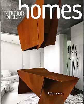 Interior Design Magazine Cover Taconic Builders Alexander Gorlin Butter and Eggs