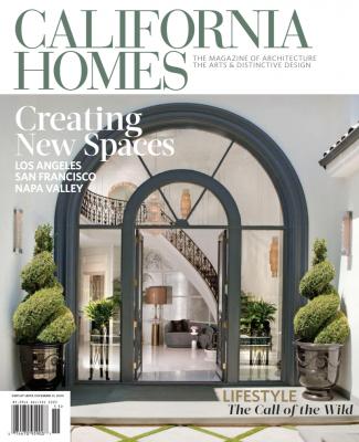 November December California Homes Taconic Builders Paul Brant Williger Lane McCook Associates Cover